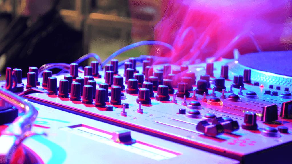 mejoir Mezclador músisica mixer